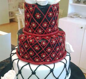 Palestinian Wedding Cake