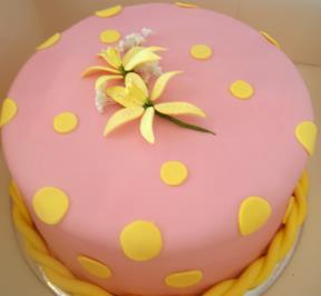 the Simple Pink Cake