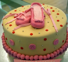 Princess shoes Cake