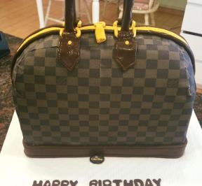 Louitvitton Bag Cake