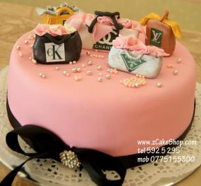 Cake of Branded Bags