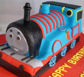 MrThomas Train Cake