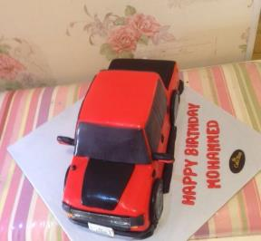 Ford 4.4 Cake