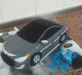 Honda Accord Cake