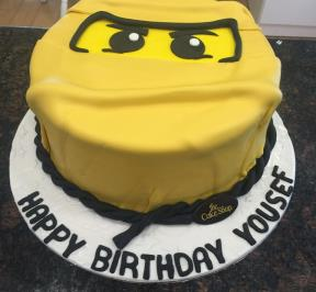 Ninja Cake Yellow Theme