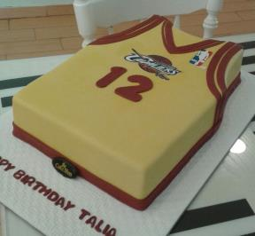 Basketball Shirt Cake