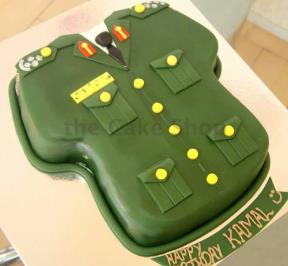 Army Suits Cake