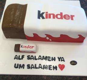 Kinder Chocolate Bar Cake