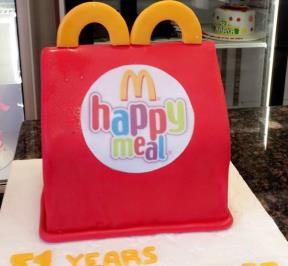 Happy Meal Cake