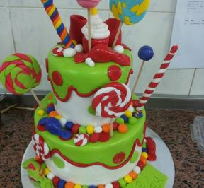 Candy Cake 2 Tier
