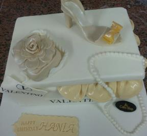 Valentino Shoes Cake