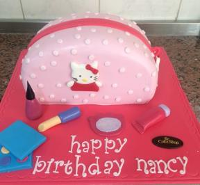 Hello Kitty Bag Cake