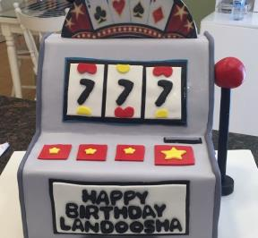Slot Machines Cake