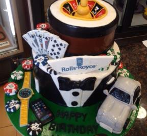 Roulette Cake 2 Tier