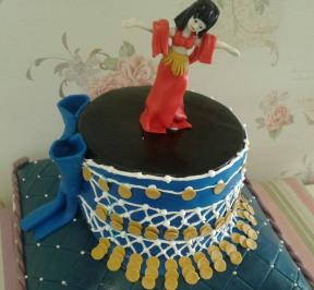Belly Dancers Cake