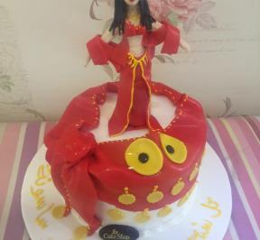 Belly Dancers Birthday Cake
