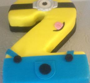 Number (2) Cake 4