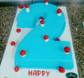 Number (2) Cake 6