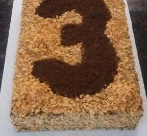 Number (3) Cake 9