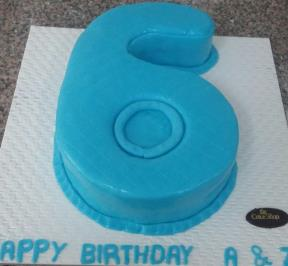 Number (6) Cake 4