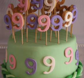 Number (9) Cake 1