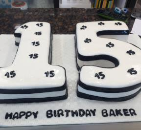 Number (15) Cake 2