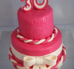 Number (30) Cake 1