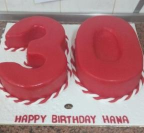 Number (30) Cake 2