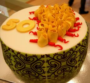 Number (50) Cake 1