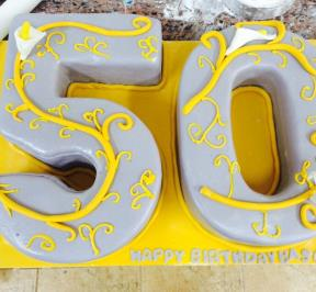 Number (50) Cake 4
