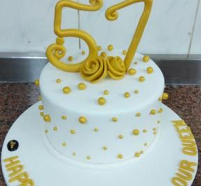 Number (57) Cake