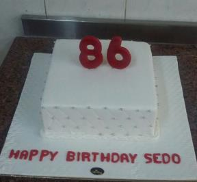 Number (86) Cake