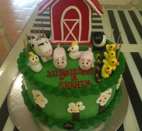 Animals Farm Cake