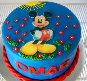 Mickey Mouse Cake ( 5 )