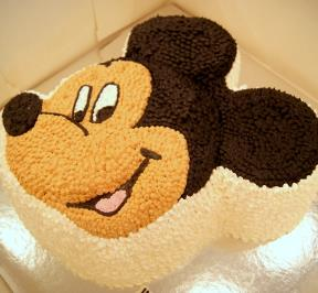 Mickey Mouse Cake ( 6 )