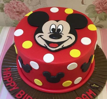 Mickey Mouse Cake 7