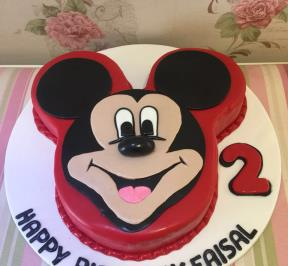 Mickey Mouse Cake ( 8 )