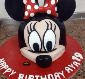 Minnie Mouse Cake ( 2 )