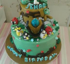 Angry Birds Cake ( 2 )