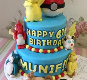 Pokemon Cake ( 3 )