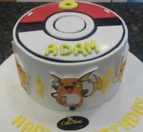 Pokemon Cake ( 4 )