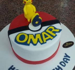 Pokemon Cake ( 5 )