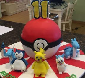 Pokemon Cake ( 7 )