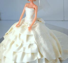 Barbie Dress Cake ( 3 )