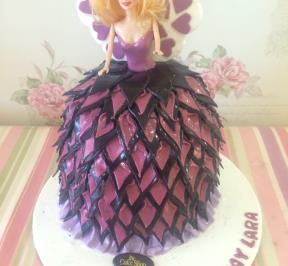 Barbie Dress Cake ( 4 )