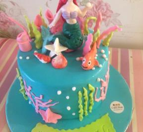 Little Mermaid Cake ( 5 )