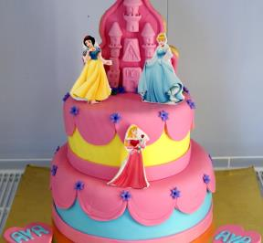 Princess Castle Cake ( 1 )