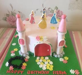 Princess Castle Cake ( 7 )