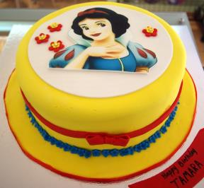 Princess Printed Cake ( 2 )