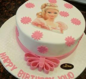Princess Printed Cake ( 4 )